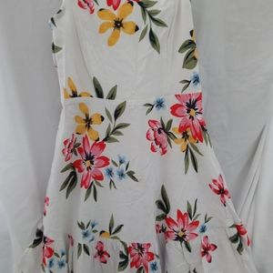 Old Navy Sundress/cami SM white floral